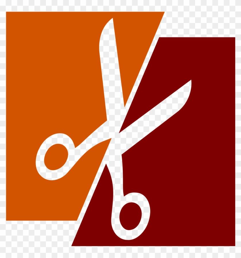 Split Scissors - Paper And Scissors Clipart #174600