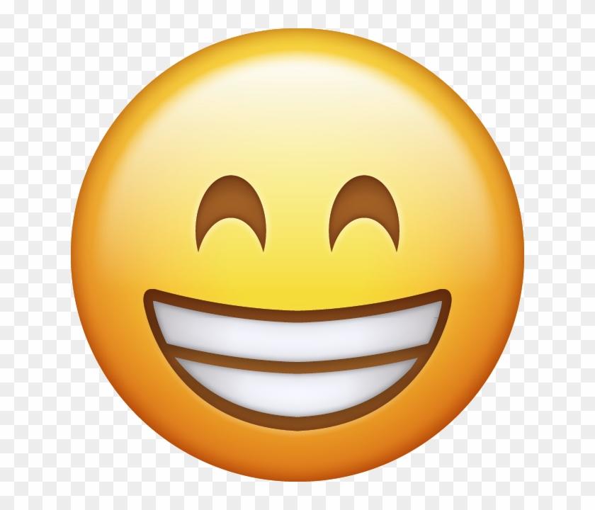 Emoji Png Ile Ilgili Görsel Sonucu - Beaming Face With Smiling Eyes Emoji #174635