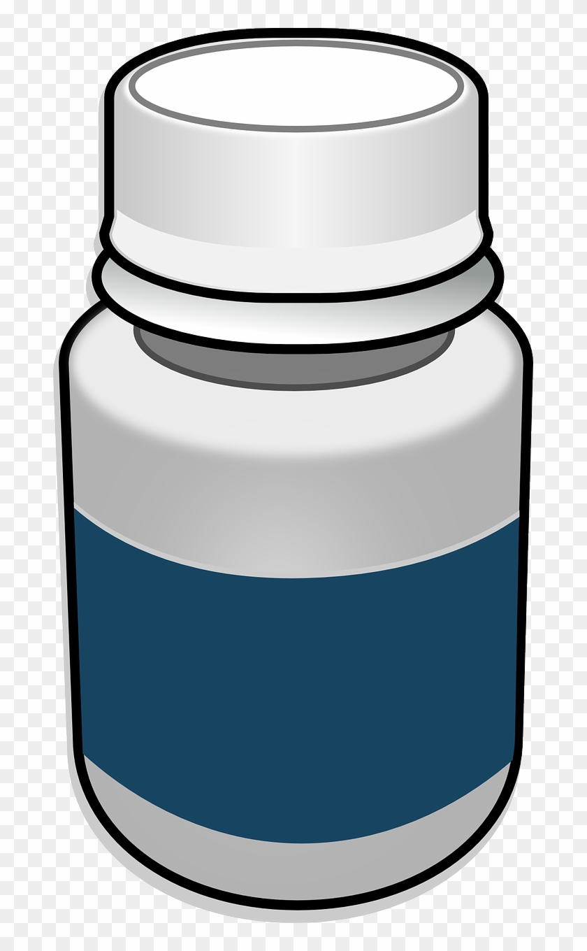 Bottle Clipart Medication - Pill Bottle Clipart Transparent #174638