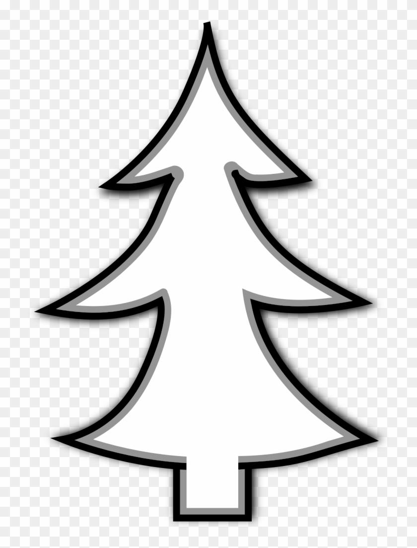 christmas tree outline clip art christmas tree line art free