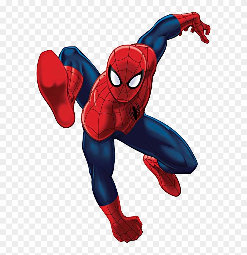 Capricious Spiderman Clipart Clip Art Jump Png Image - Marvel Universe Ultimate Spider-man #5 #174792
