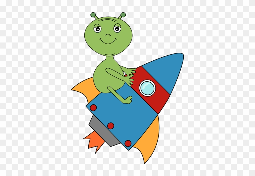 Aliens In Space Clipart