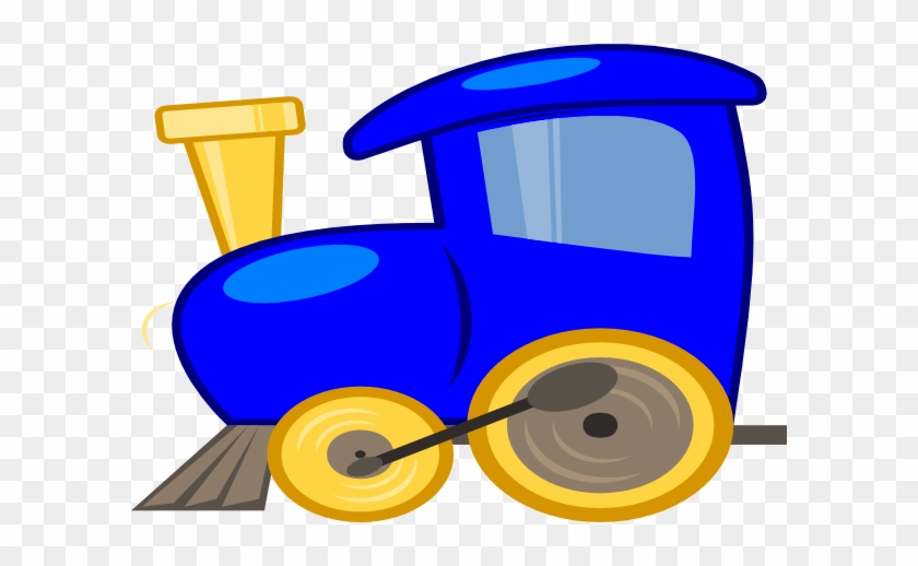 Blue Loco Train Clip Art At Clkercom Vector - Blue Train Engine Clipart #174906