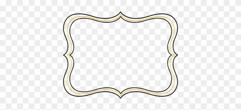 Free Frame Clip Art - Shape Border Clip Art #174937