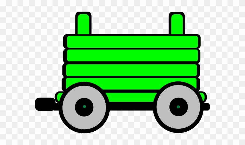 Clipart Train With 3 Carriages #174943