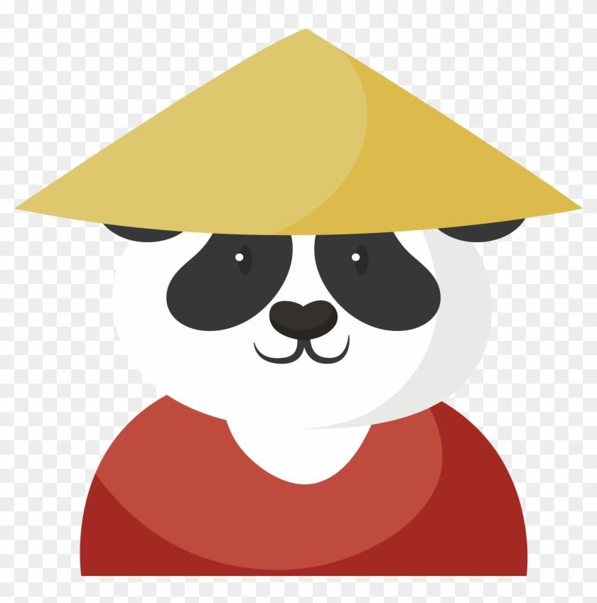 Giant Panda Cartoon Kung Fu Illustration - Kung Fu Panda Animado #175032