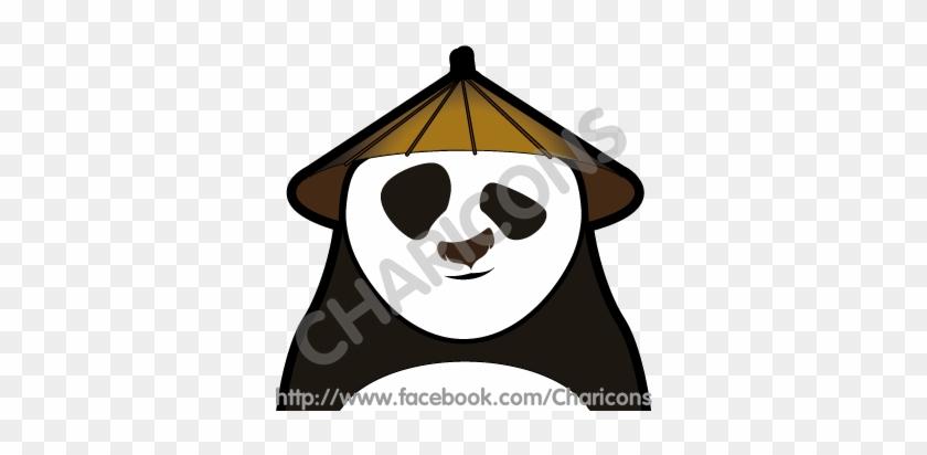 Kung Fu Panda Charicon By Geekeboy - Kung Fu Panda Vector #175059