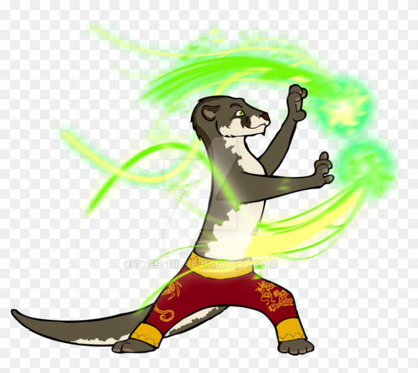 Kung Fu Otter By Thessur - Kung Fu #175071