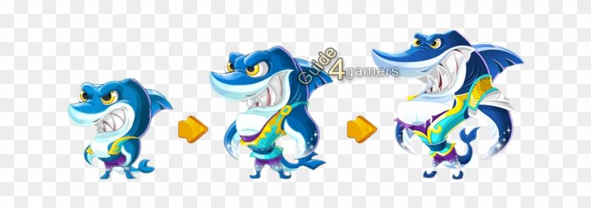 Kung Fu Pets Ice Blade Shark - Kung Fu Pets Shark #175194
