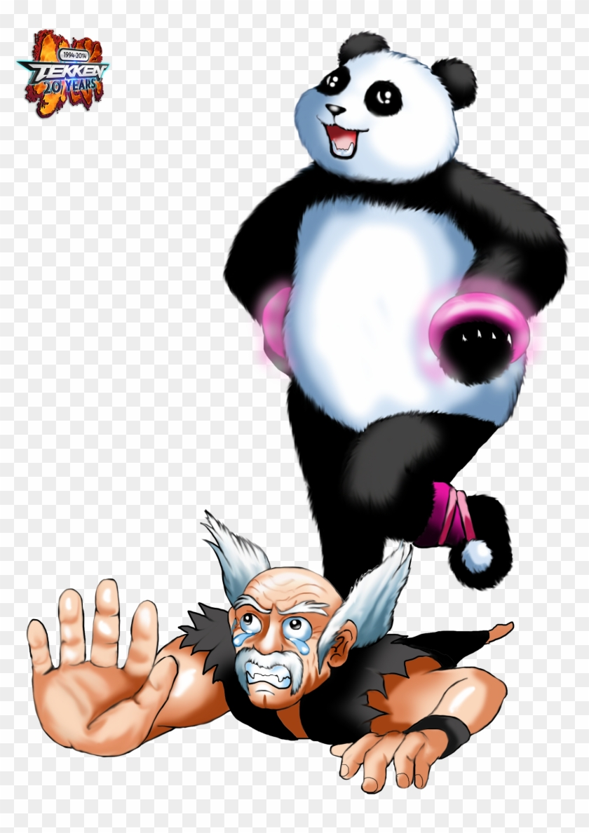 Panda Tekken Anniversary Art Tribute On Game Art Hq - Kung Fu Panda Tekken #175205