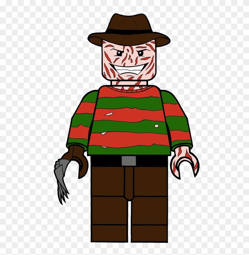 Freddy Lego Horror Icon By Kung Fu Eyebrow - Horror Icon #175200