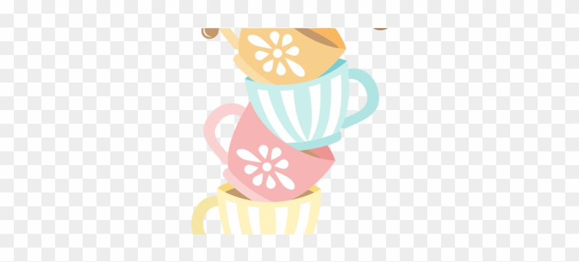 Tea Party Cliparts - Tea Cup Clip Art Free #175283