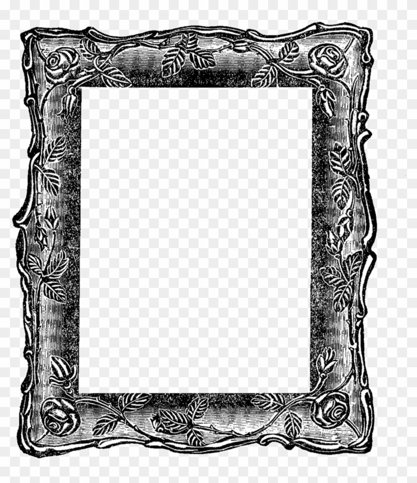 Free Vintage Frame Clip Art From The Graphics Fairy - Simply Love You More Than I Love Life Itself #175303