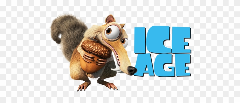 Ice Age Movie Image With Logo And Character - Ice Age Peanut #175396