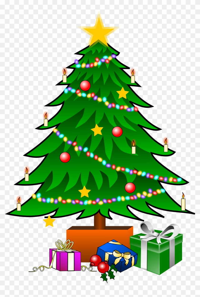 Christmas Tree Graphic Christmas Tree Graphic Christmas - Christmas Tree Cartoon With Presents #175468
