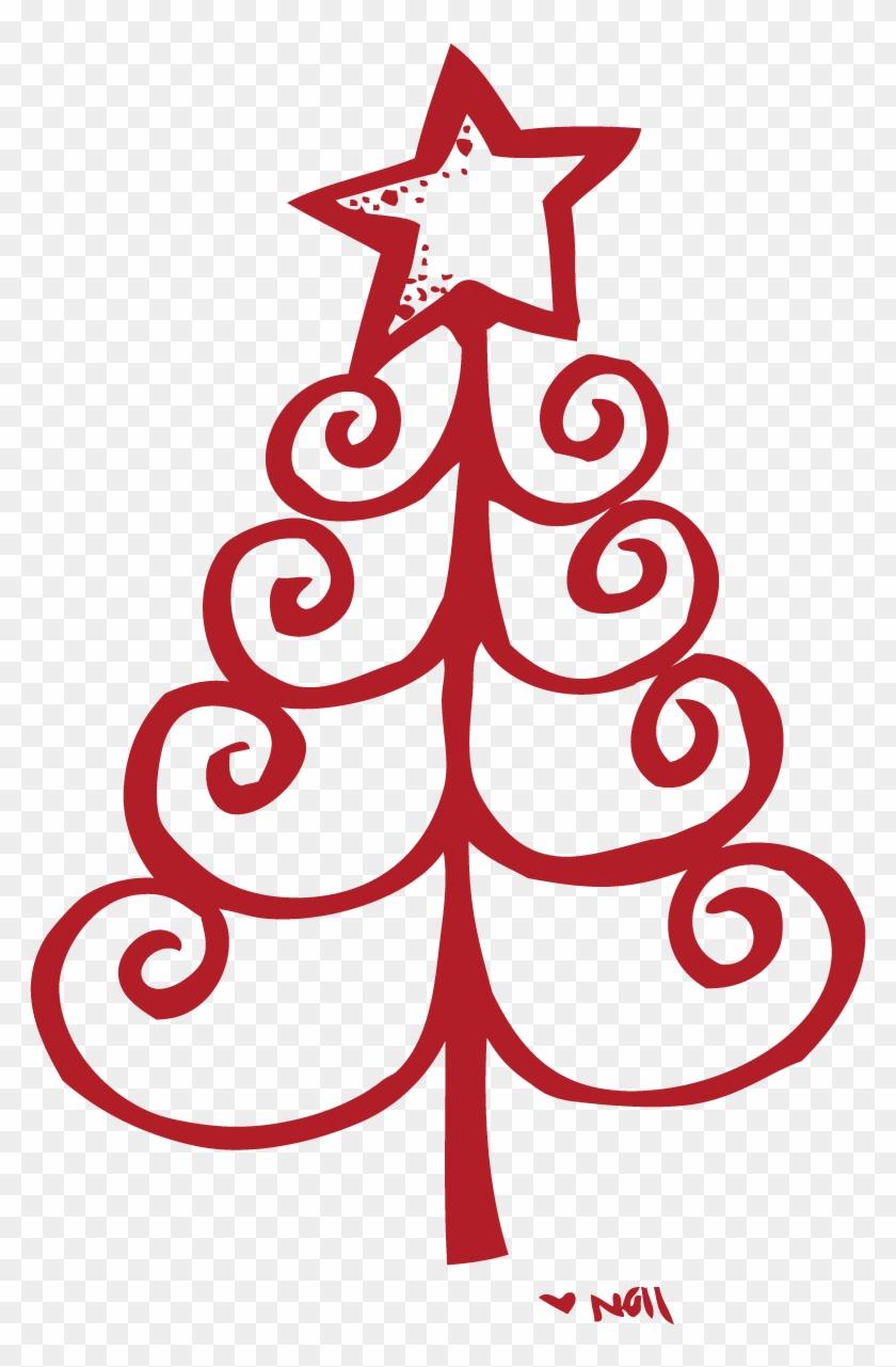 Printable Christmas Tree.Free Printable Dr Red Christmas Tree Clip Art Free