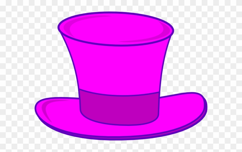 Pink Top Hat Clipart #175582