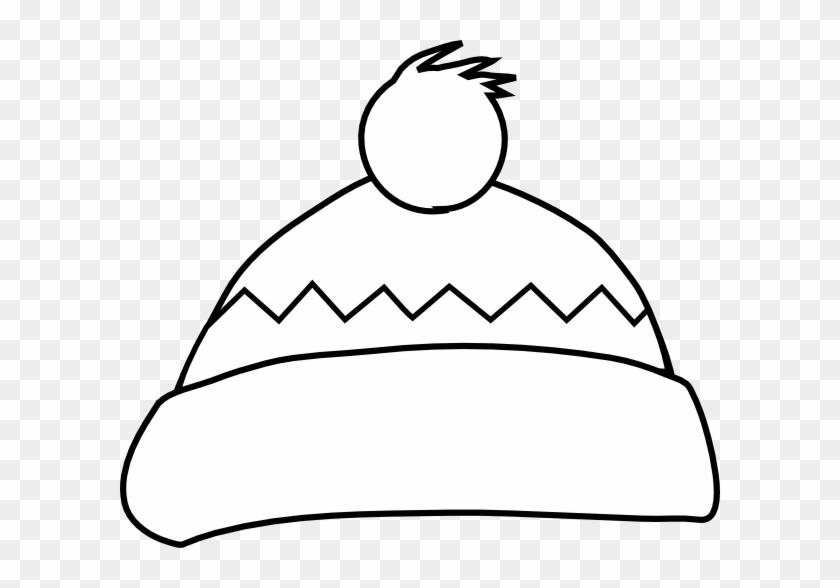 White Winter Hat Clip Art At Clker - Winter Hat Clip Art #175712