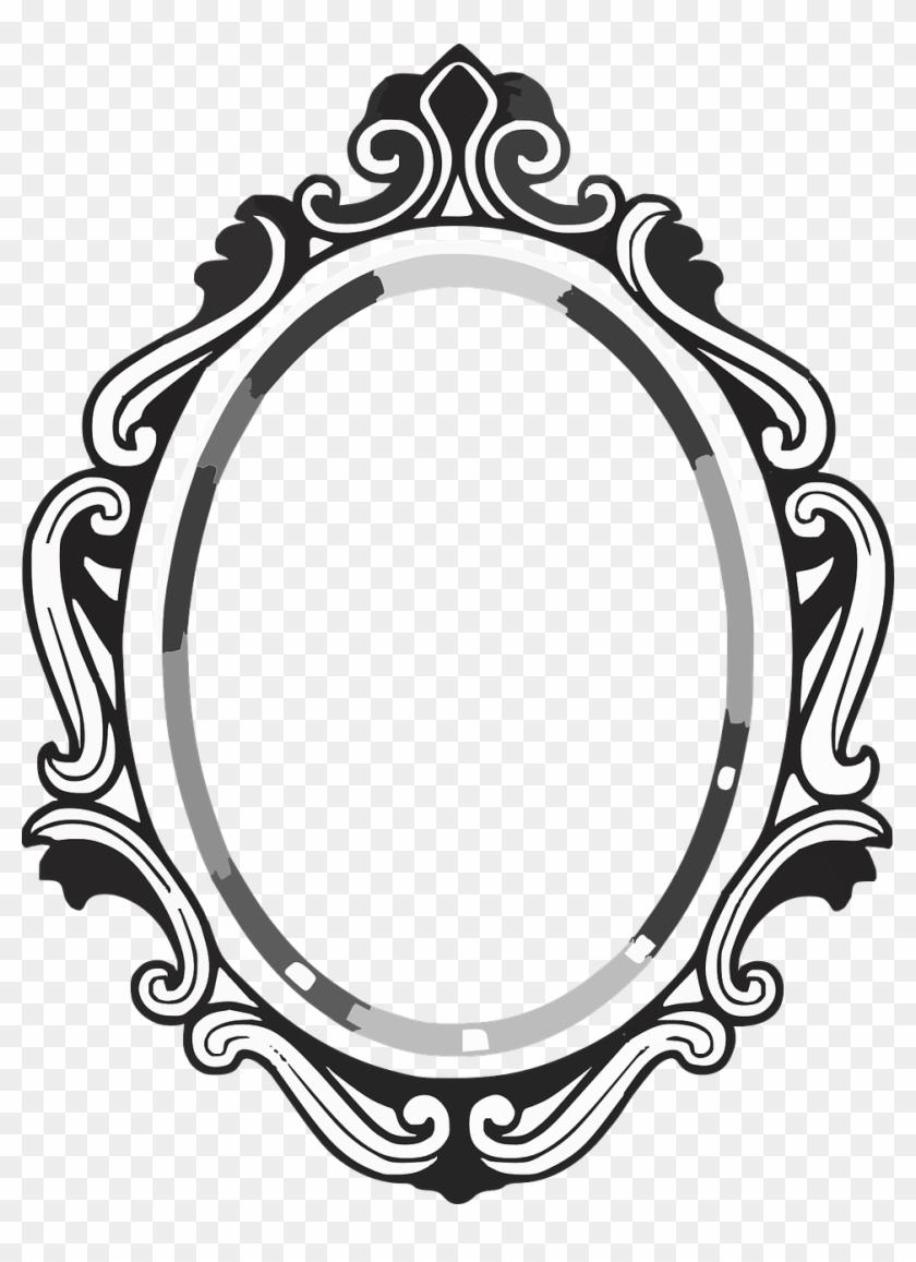 Mirror - Fancy Mirror Drawing #175717