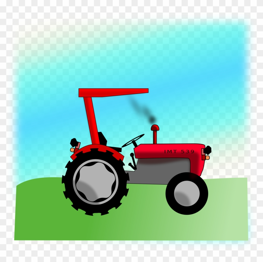 Tractor Tractor Clipart Png Trator Desenho Vermelho Free