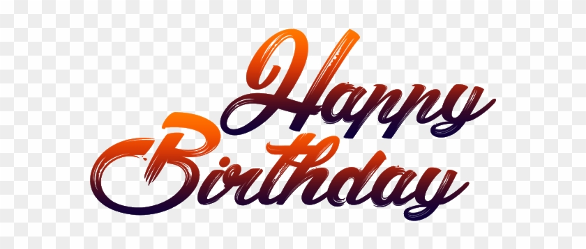New Happy Birthday Png Fonts Free Download - Happy Birthday