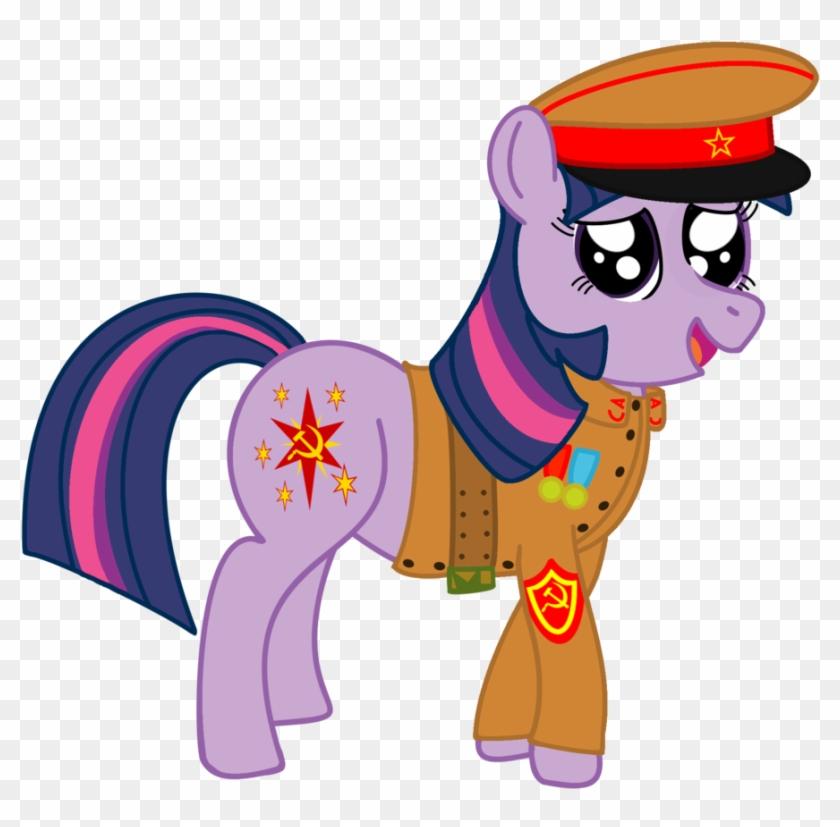 Soviet Twilight Says Hi By Thefieldsofice - Soviet Unicorn #176076
