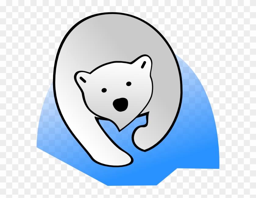 Polar Clipart Oso - Imagenes De Caricatura De Oso Polar #176113