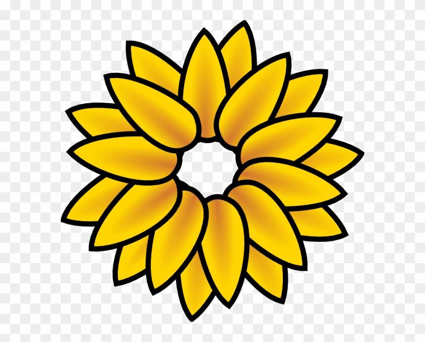 Sunflower Clipart - Sunflower Clipart #176119