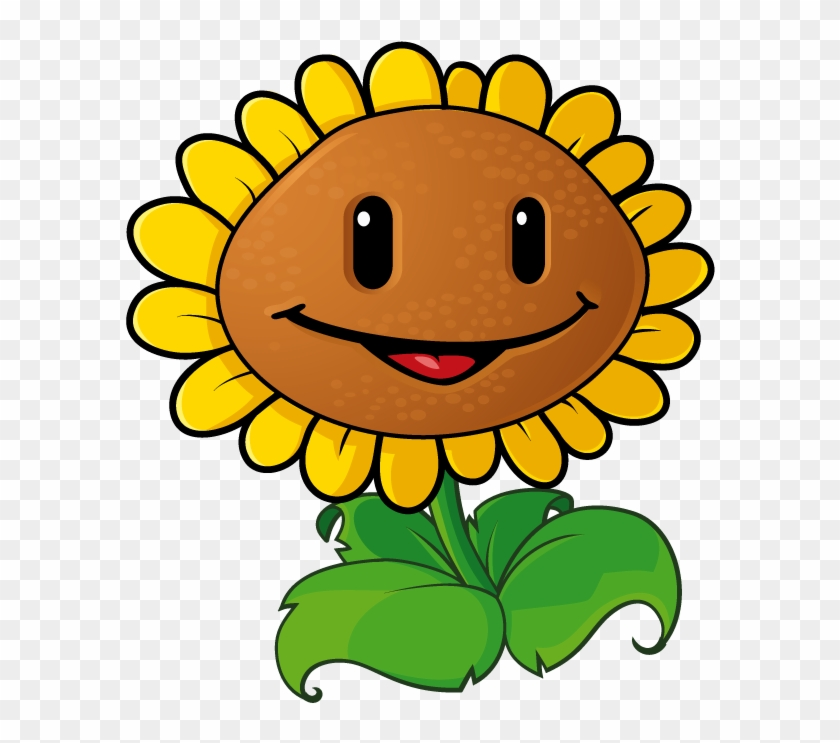 Sunflower Clip Art 5 Clipartbold - Plants Vs Zombies 1 Sunflower #176125