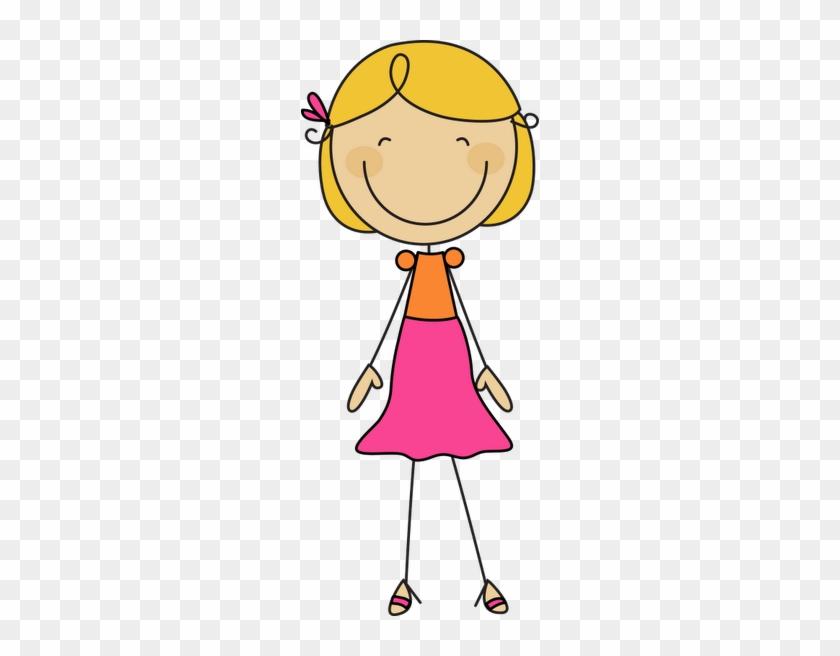 *✿**✿*palitos*✿**✿* - Blonde Stick Figure Girl #176250