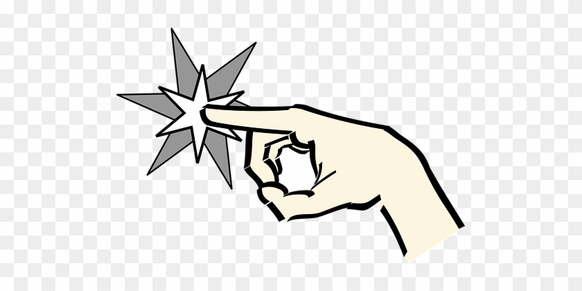 Touch, Touching, Finger, Point, Pointing - Animated Pointing Hand #176285
