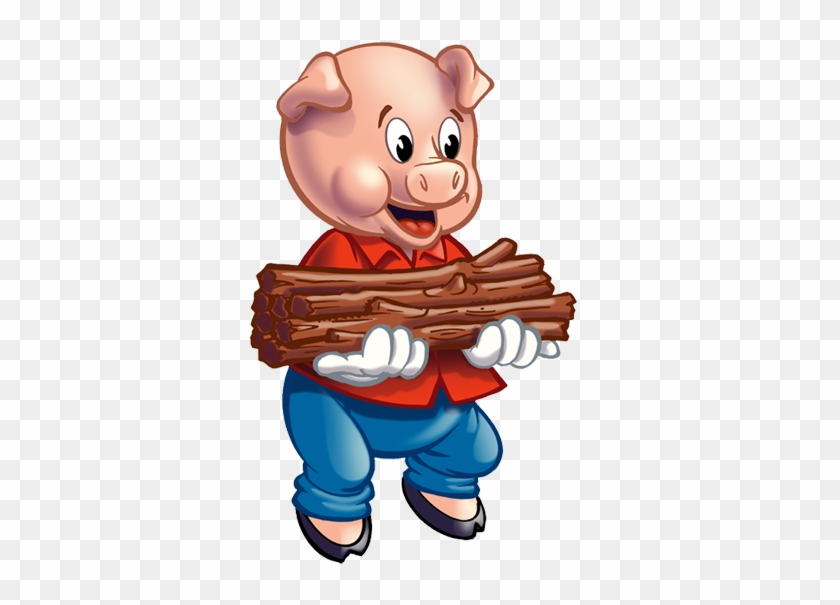 Three Little Pigs Clipart - Three Little Pigs Pig #176427