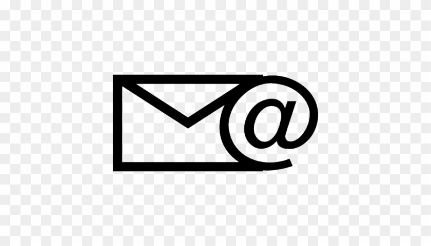 Icon Letter Mail 17 129135932 626×448 Pixels - Email Icon Black And White Simple #176558