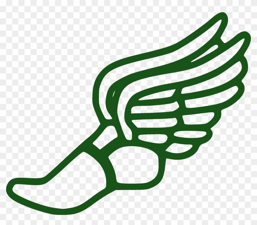 Running - Track And Field Winged Foot #176647