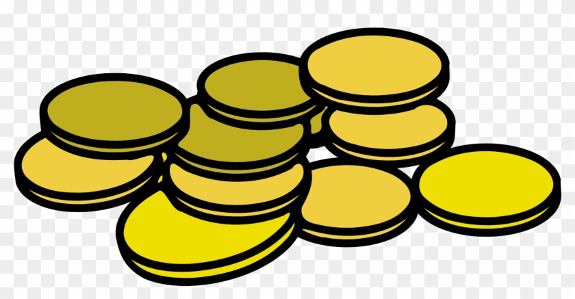 Gold Coins Clipart #176688