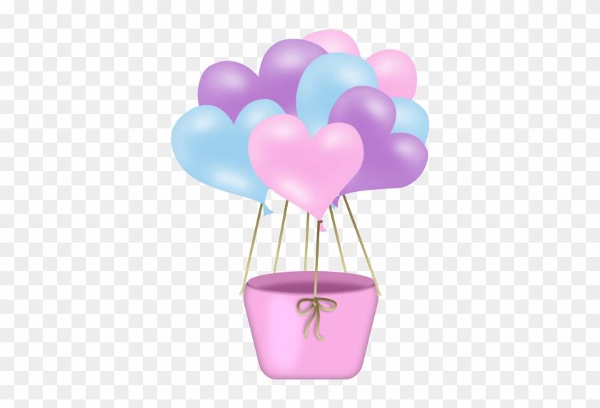 Ballons,png,tube - Balão Chuva De Amor Png #176706