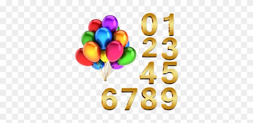 Ballone, Geburtstag, Zahlen, Luftballons - Birthday Post On Facebook #176749