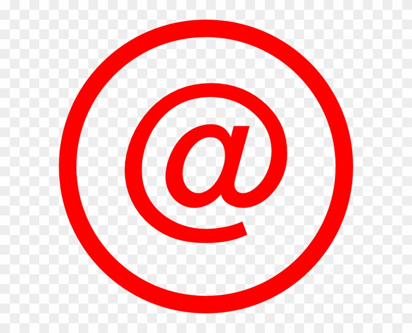 Email Logo Red Png #176882