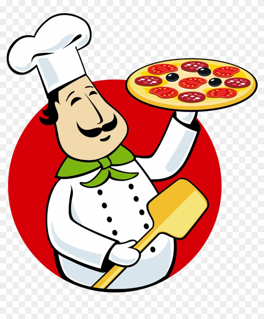 Pizza Delivery Italian Cuisine Chef Clip Art - Italian Pizza Chef Png #176919
