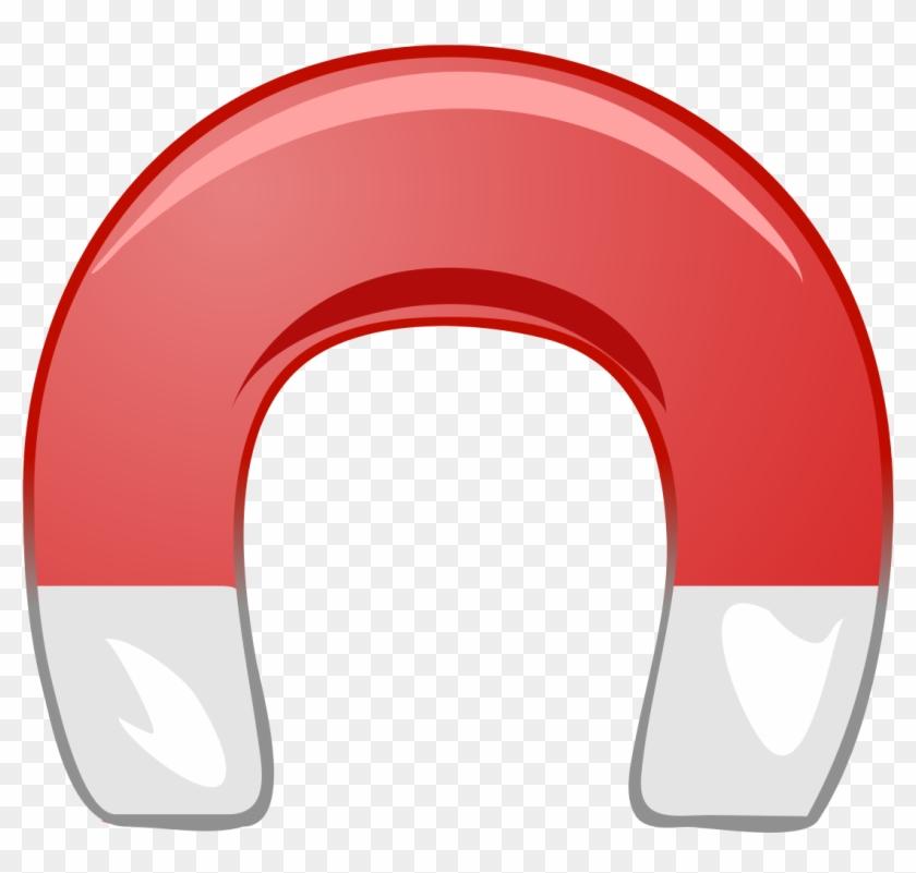 Horse Shoe Magnet - Horseshoe Magnet Clip Art #177008