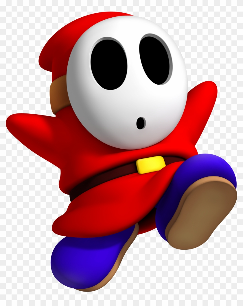 Shy Guy Super Mario Bros Characters Free Transparent Png