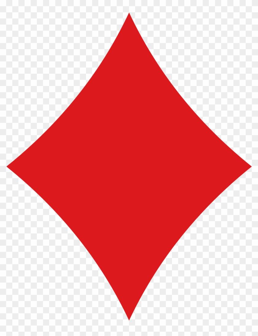 Diamond Playing Card Symbol