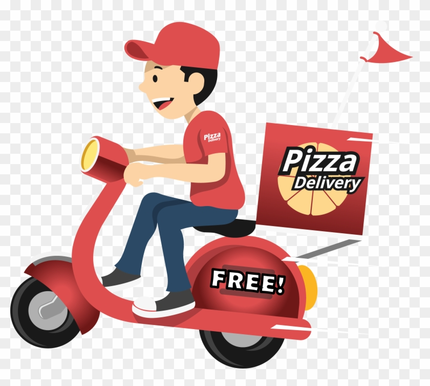 Free Delivery - Pizza Free Delivery Logo #177178