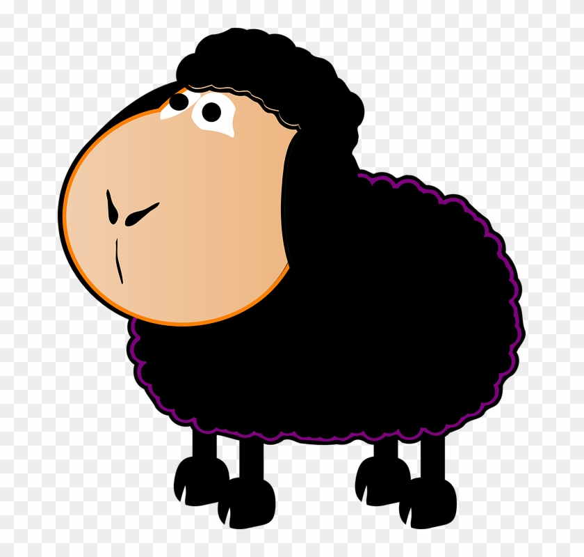 Clipart Sheep Png - Baa Baa Black Sheep Clipart #177459
