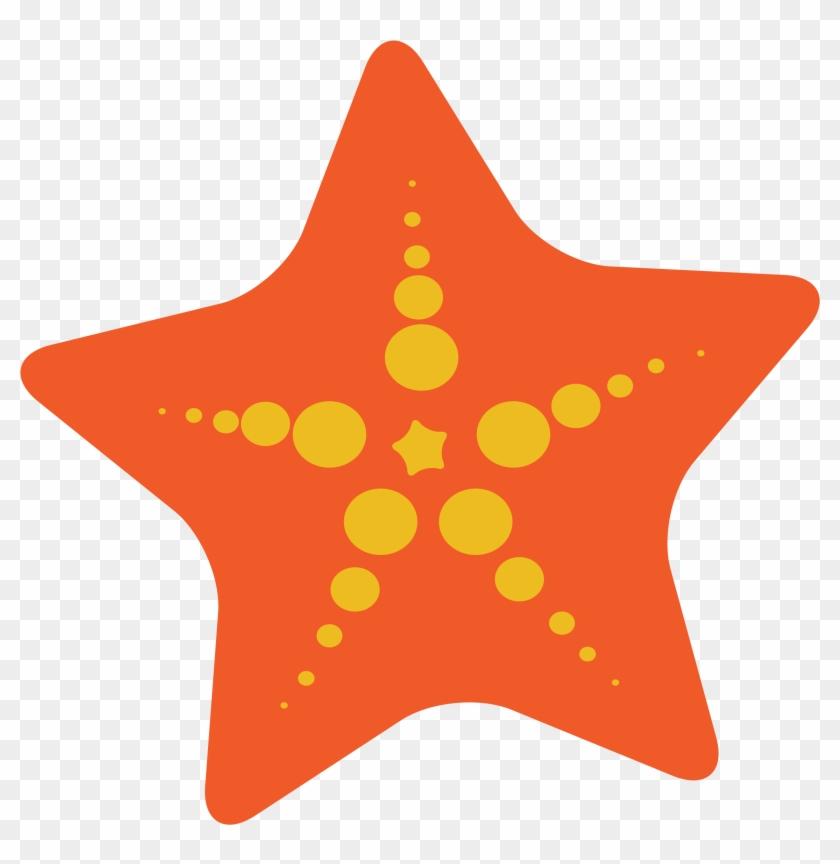 Cute Starfish Clipart - Sea Star Clip Art #177496