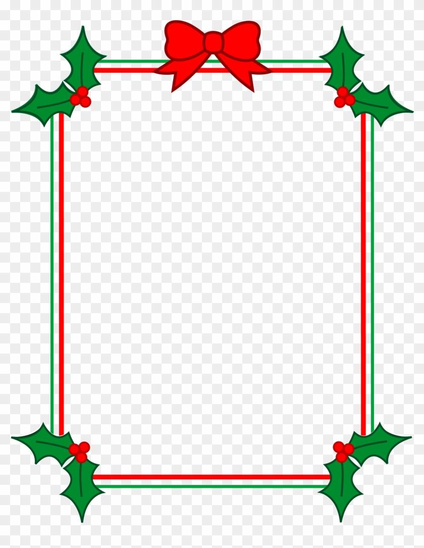 Christmas Border Clip Art - Christmas Borders And Frames - Free ...