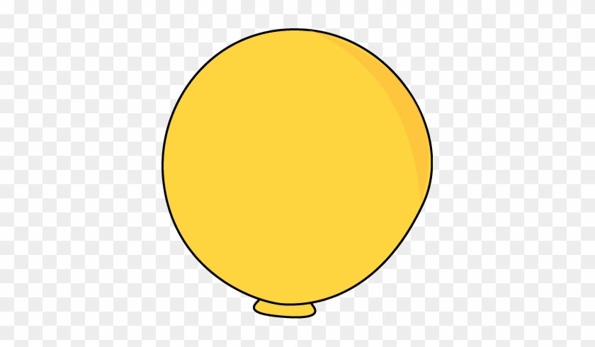 Yellow Balloon Clipart Free Images - Tennis Ball Cut Out #177790