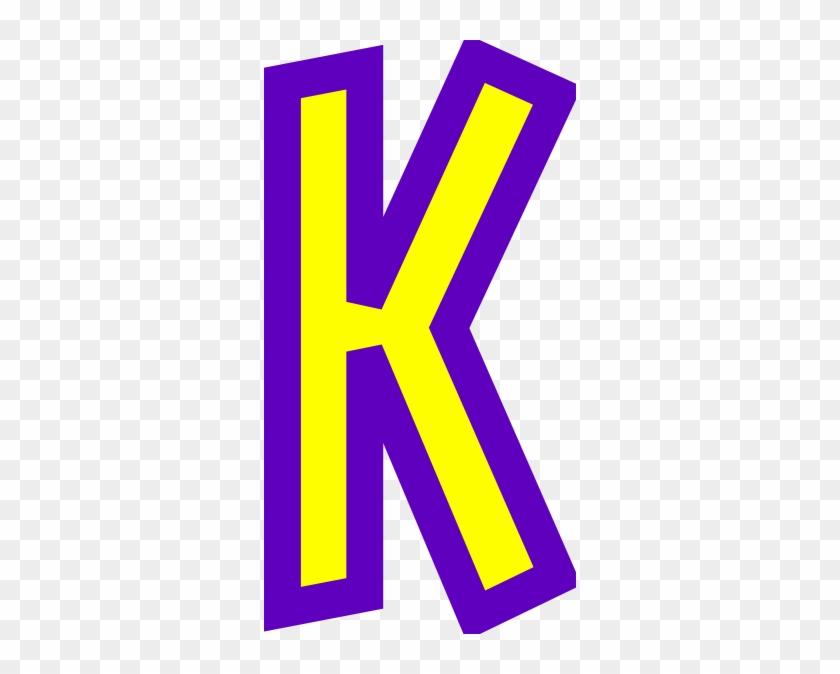 Letter K Clip Art - Free Clip Art Letter K #177985