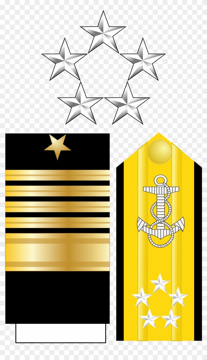 United States Navy Rank Structure (by Yangzhenbao) - Us Navy Fleet Admiral Insignia #178039