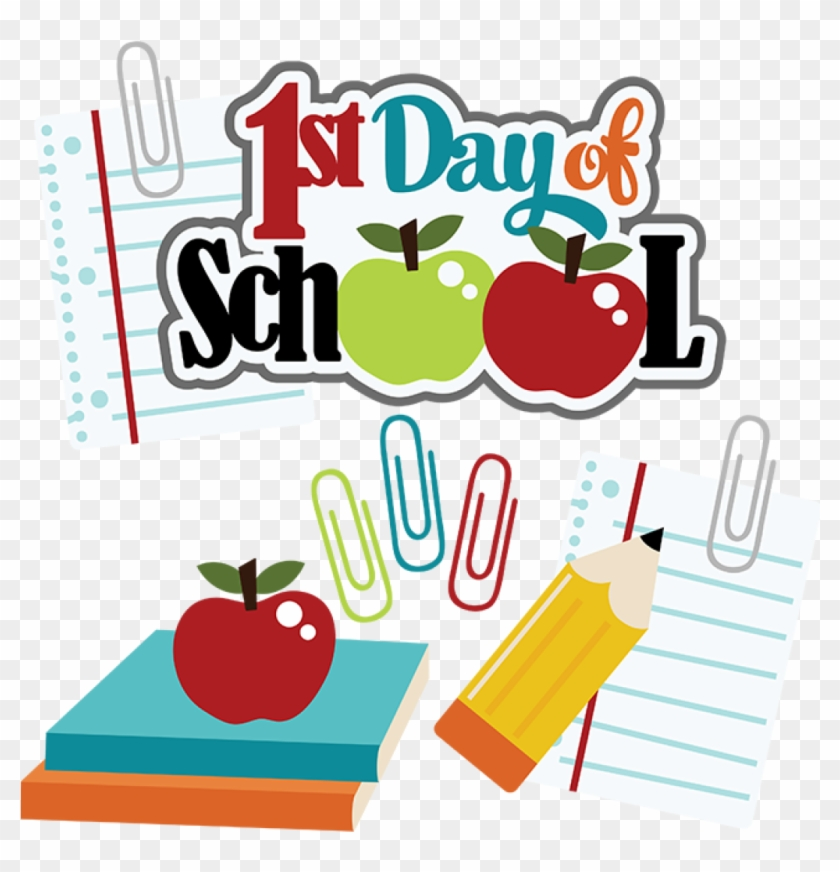 First Day Of School Clipart Free First Day Of School - Cute School Clipart #178084
